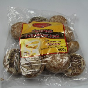 """Sweet pastries """"Lackmann"""" with honey flavor - 400g"""