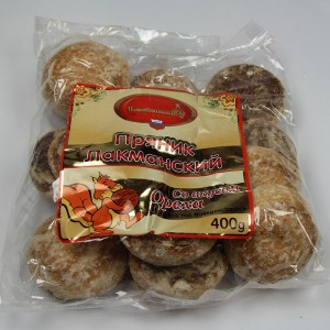 """Sweet pastries """"Lackmann"""" with nut flavor - 400g"""