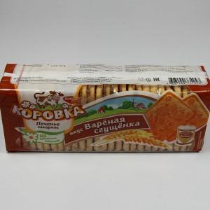 """Kekse """"Korovka"""" mit Geschmack von karamellisierter gezuckerter Kondensmilch - 375g"""