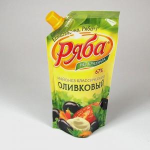 """МАЙОНЕЗ """"РЯБА"""" классический ОЛИВКОВЫЙ  - 200г"""