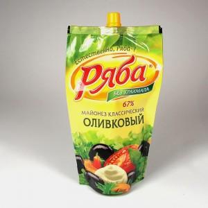 """МАЙОНЕЗ """"РЯБА"""" ОЛИВКОВЫЙ - 390г"""