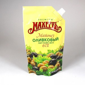 "Salad mayonnaise ""Maheev"" with olive oil - 380g"