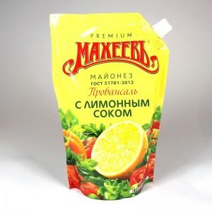 "Salatmayonnaise ""Maheev"" mit Zitronensaftkonzentrat - 380g"