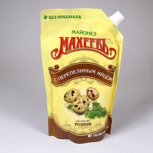 """Salad mayonnaise """"Maheev"""" with quail eggs - 380g"""