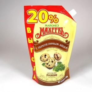 """Salad mayonnaise """"Maheev"""" with quail eggs - 770g"""