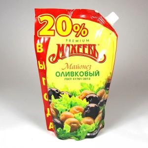 "Salad mayonnaise ""Maheev"" with olive oil - 770g"