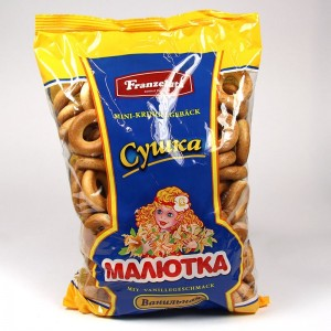 "Kringelgebäck ""Malütka"" mit Vanillegeschmack - 500g"