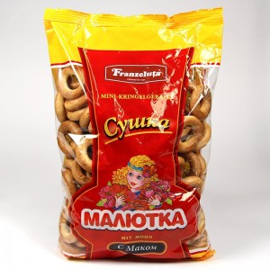 """Drying """"Malutka"""" with poppy seeds - 500g"""