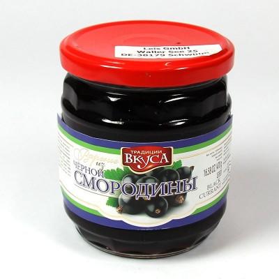 Schwarze Johannisbeermarmelade - 470 g