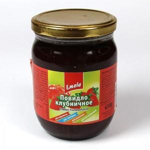 Emela strawberry jam - 630g