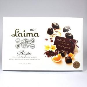 Extra dark chocolate assortment Laima - 360g