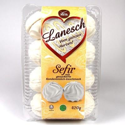 """Зeфир """"Лянеж"""" со вкусом сгущенного молока - 420 г"""