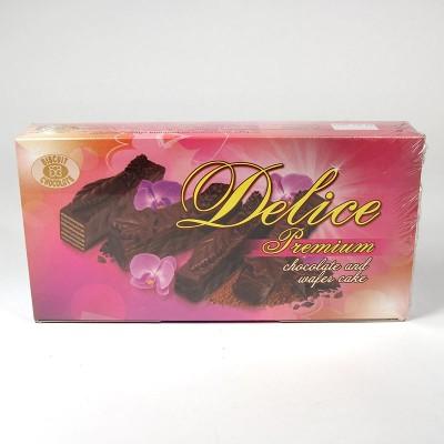 """Шоколадно-вафельный торт """"Делис"""" - 500г"""