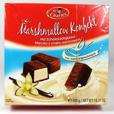 Конфеты из зефира в шоколадной глазуре со вкусом ванили - 400 г