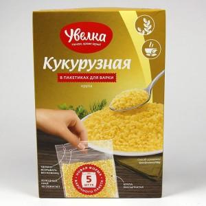 """КРУПА КУКУРУЗНАЯ """"УВЕЛКА"""" в пакетиках 5х80 -  400г"""