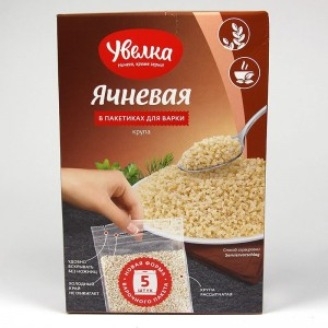 Pot barley Uvelka in cooking bags 5x80g - 400g