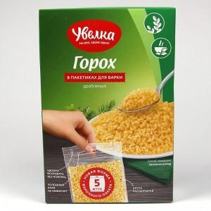 Split peas Uvelka in cooking bags 5x80g - 400g