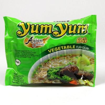 Instant Nudeln mit Gemüsegeschmack - 60g