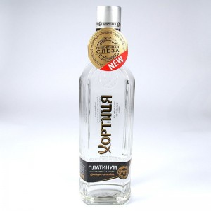 "Vodka ""Platinum Khortytsa"" - 0,5 L"