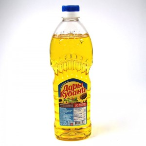 """Kuban gifts"" unrefined oil, first grade - 0.65 L"