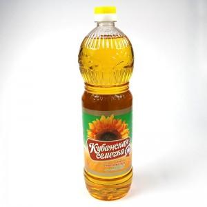"""Sunflower oil, """"Kuban seed"""" - 1L"""