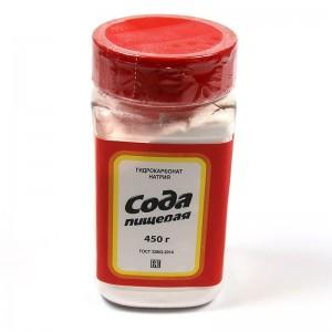 Baking soda - 450 g