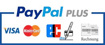 PayPal Rechnung, Lastschrift, Kreditkarte, Visa, MasterCard